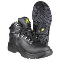 Amblers Safety FS218 Waterproof Safety Footwear Black